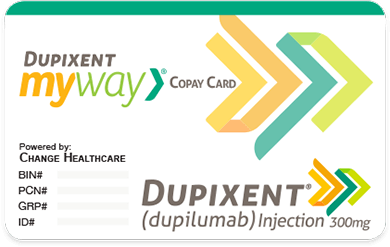 DUPIXENT MyWay® copay card for DUPIXENT® (dupilumab)